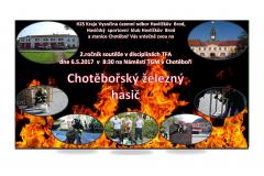Pozvánka Chotěbořský železný hasič